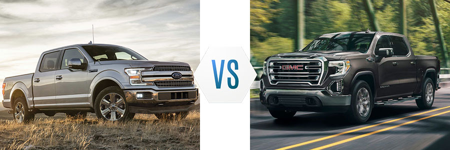 2019 Ford F-150 vs GMC Sierra 1500