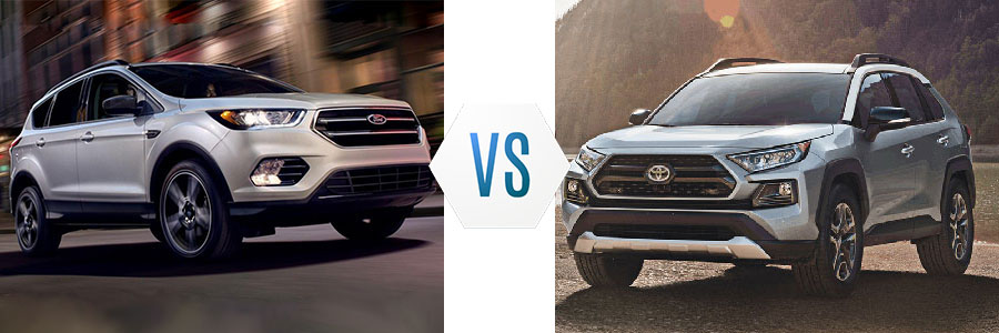 2019 Ford Escape vs Toyota RAV4