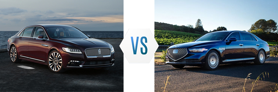 2020 Lincoln Continental vs Genesis G90