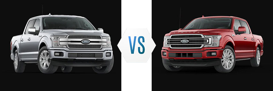 2020 Ford F-150 Platinum vs Limited