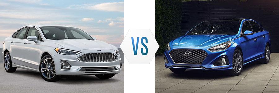 2019 Ford Fusion vs Hyundai Sonata