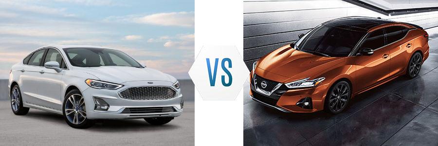 2020 Ford Fusion vs Nissan Maxima