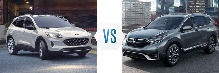 2020 Ford Escape vs Honda CR-V