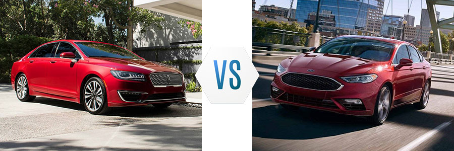 2019 Lincoln MKZ vs Ford Fusion