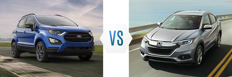2020 Ford EcoSport vs Honda HR-V