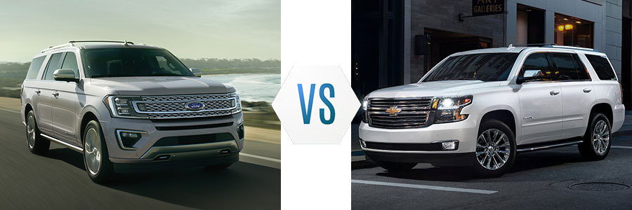 Ford Expedition vs Chevrolet Tahoe