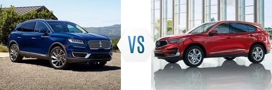 2020 Lincoln Nautilus vs Acura RDX