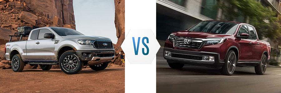 2020 Ford Ranger vs Honda Ridgeline