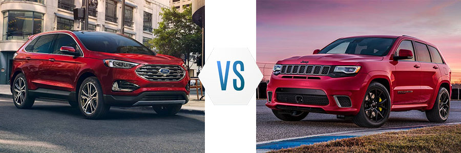 2019 Ford Edge vs Jeep Grand Cherokee