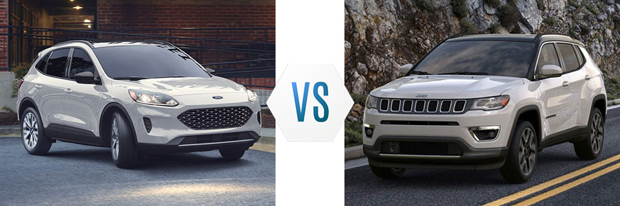 2020 Ford Escape vs Jeep Compass