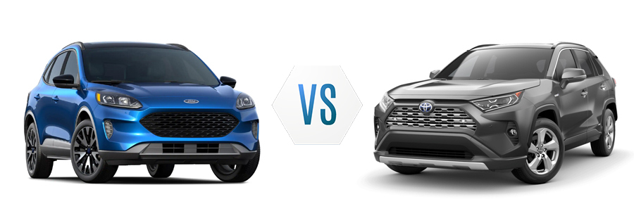 2020 Ford Escape Hybrid vs Toyota Rav4 Hybrid
