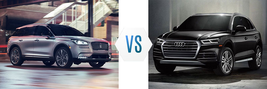2020 Lincoln Corsair vs Audi Q5