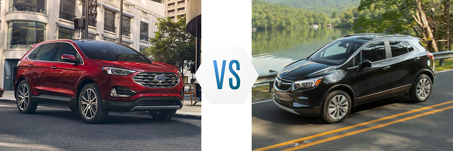 2020 Ford Edge vs Buick Encore
