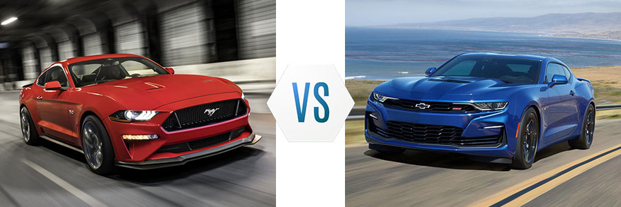 2020 Ford Mustang vs Chevrolet Camaro