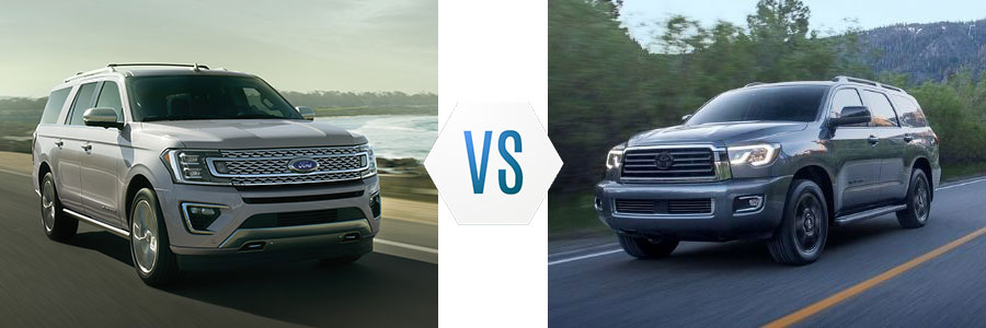 2020 Ford Expedition vs Toyota Sequoia