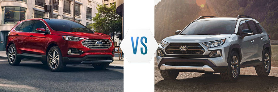 2019 Ford Edge vs Toyota RAV4