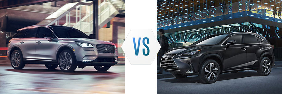 2020 Lincoln Corsair vs Lexus NX