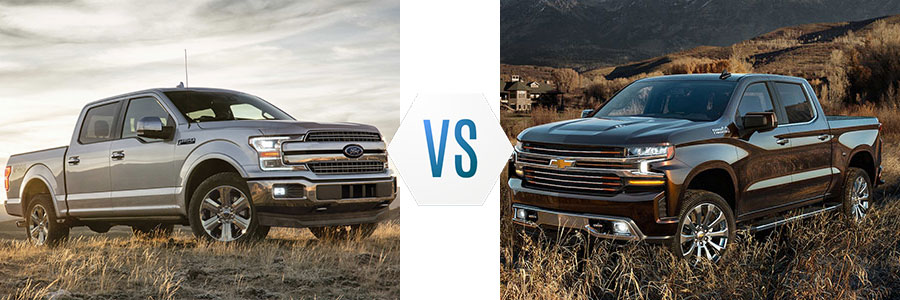 2019 Ford F-150 vs Chevrolet Silverado 1500