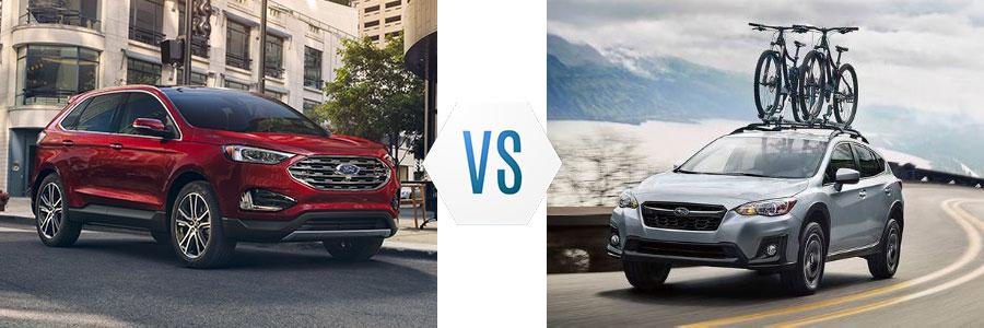 2020 Ford Edge vs Subaru Crosstrek